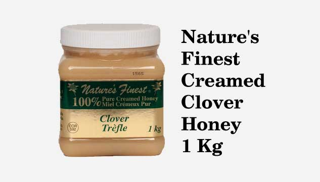 Nature's Finest Creamed Clover Honey