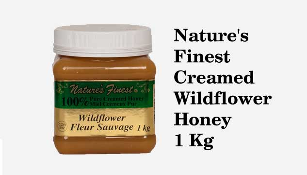 Nature's Finest Creamed Wildflower Honey