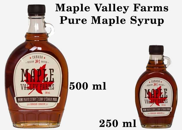 Maple Valley Farms Pure Maple Syrup